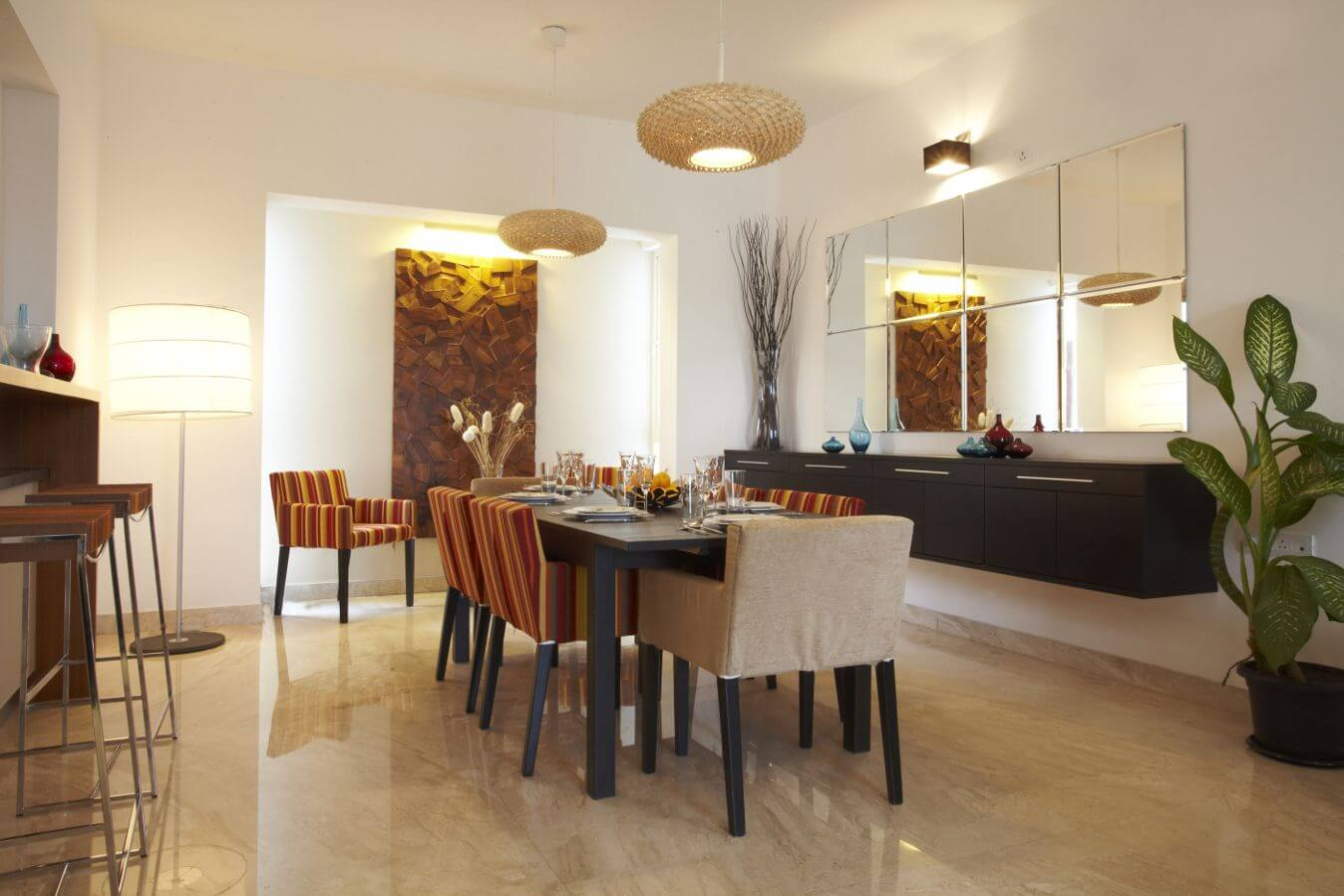 Super Luxrious 3.5 & 4.5 Bhk At Nibm Rd